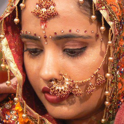 Свадебная символическая церемония  в Индии