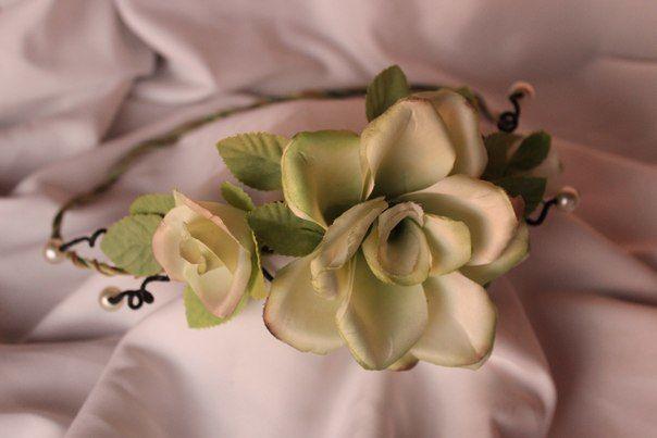"""Веночек для невесты или подружки - фото 8263216 Мастерская авторских украшений """"Avonessa"""""""