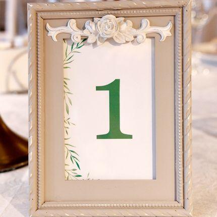 Номера на столы гостей