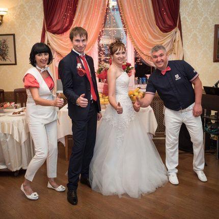 Дуэт ведущих на свадьбу, 5-6 часов