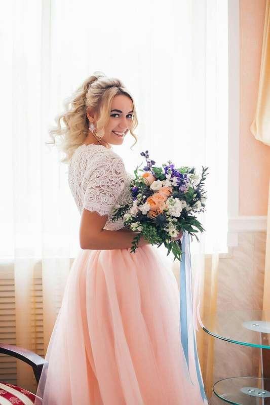 Свадьба Аси и Артема Фото: Алла Казабекова  Место: Гнездо Аиста - фото 13617564 Стилист Ната Андреева