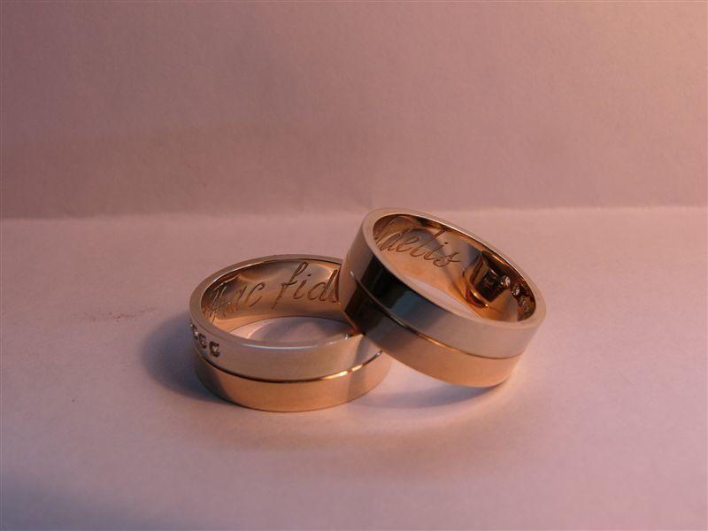 Ручная гравировка.Текст внутри кольца. - фото 8537334 Ювелирная мастерская Акопян Г.М.
