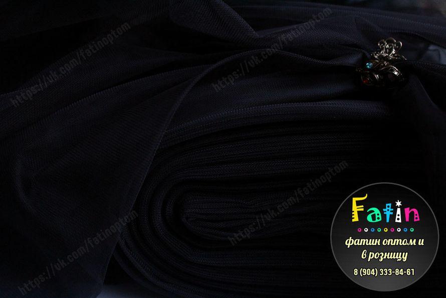 В НАЛИЧИИ  Еврофатин - мягкий Ширина 3 метра Артикул - М 052 (Чёрный) Цена 180 руб/метр Страна-производитель Турция *оптовую цену уточняйте у администратора группы. - фото 8638460 Фатин и еврофатин от Анны Акаевой