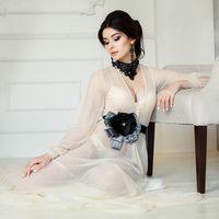 Будуарное платье Маргарита Цвет беж
