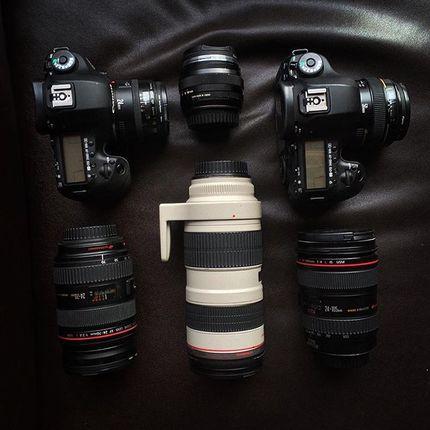 Видеосъёмка 2 камеры и квадрокоптер