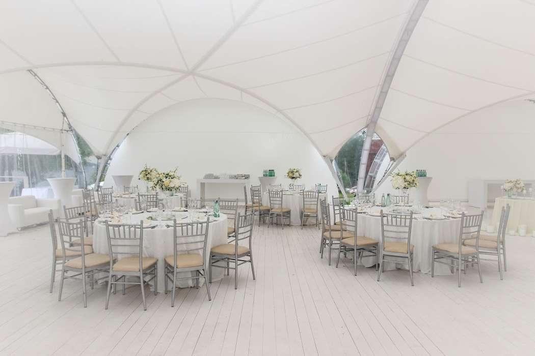 Фото 10352320 в коллекции Шатёр Белый Парус  - Event Park - площадки для проведения торжеств