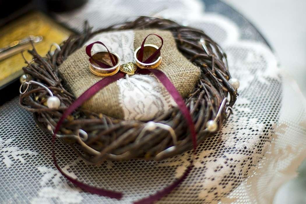 Фото 8890348 в коллекции Зимний Рустик. Евгений и Екатерина. 28 ноября 2015 - Студия стильных свадеб ХэппиБум - оформение