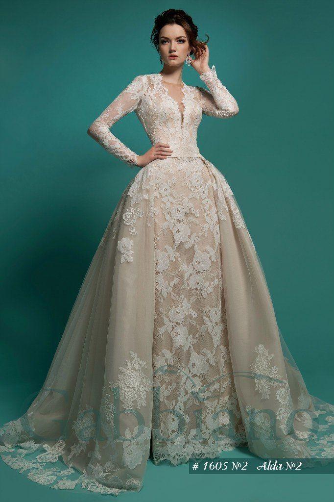 """модель : """"Альда"""", платье трансформер (сьемная пышная юбка) стоимость 38200 руб - фото 8930310 свадебный салон Хельга"""
