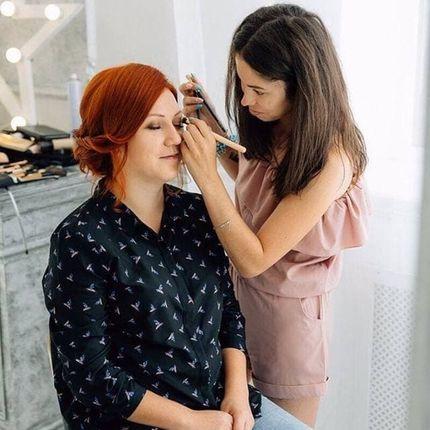 Репетиция макияжа невесты