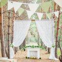 Выездная церемония в лесу.