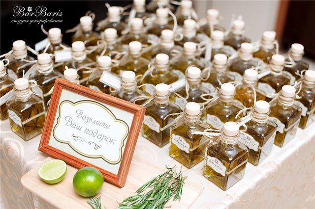 Подарки на свадьбу гостям от молодоженов фото