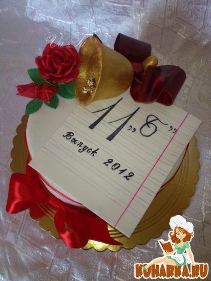 Торт на выпускной школьникам фото