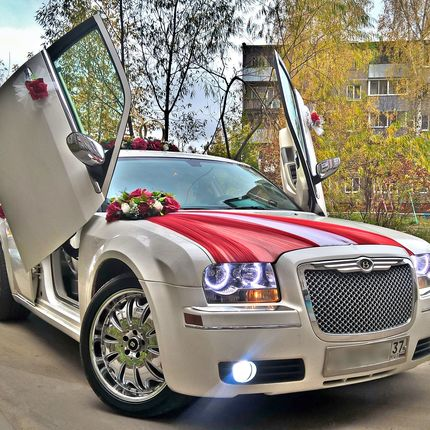 Свадебный кортеж Chrysler 300C в аренду