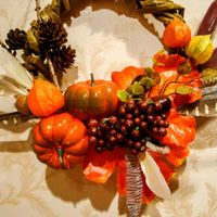 Осенний венок