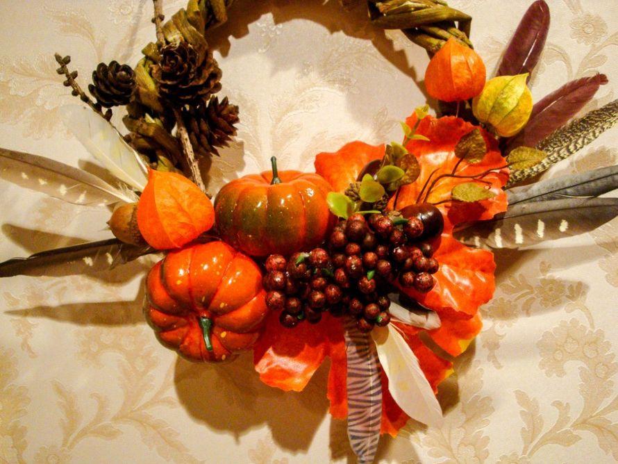 Осенний венок - фото 9450212 Мастерская флорариумов Юлии Шумилкиной