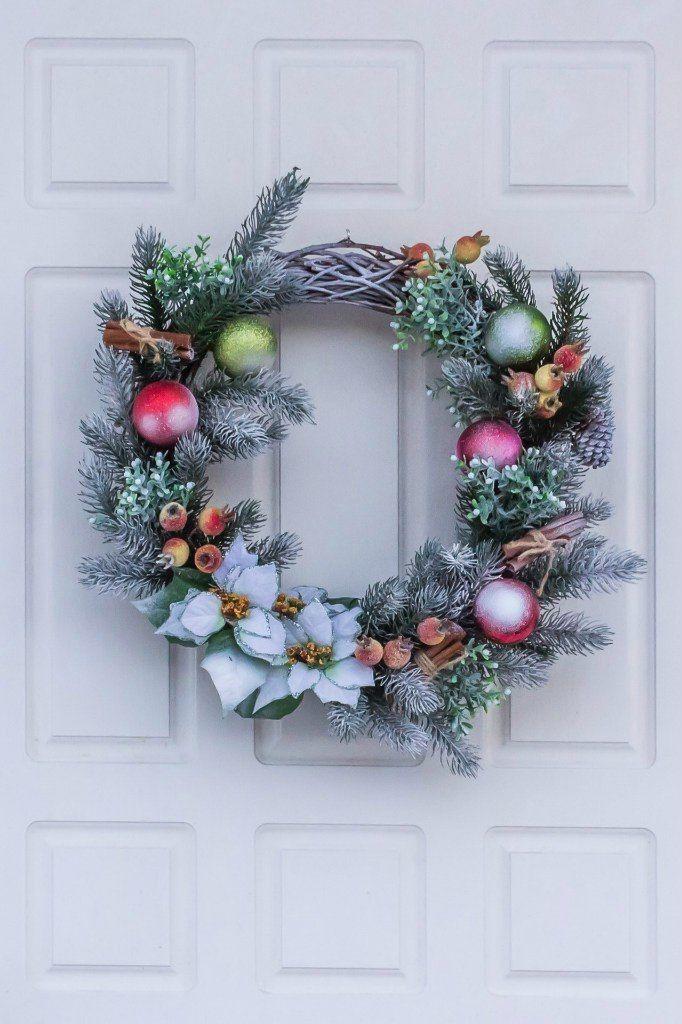 Рождественский венок - фото 9450220 Мастерская флорариумов Юлии Шумилкиной