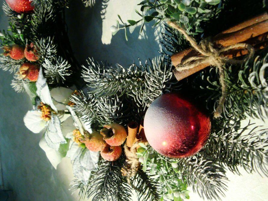 Рождественский венок - фото 9450222 Мастерская флорариумов Юлии Шумилкиной