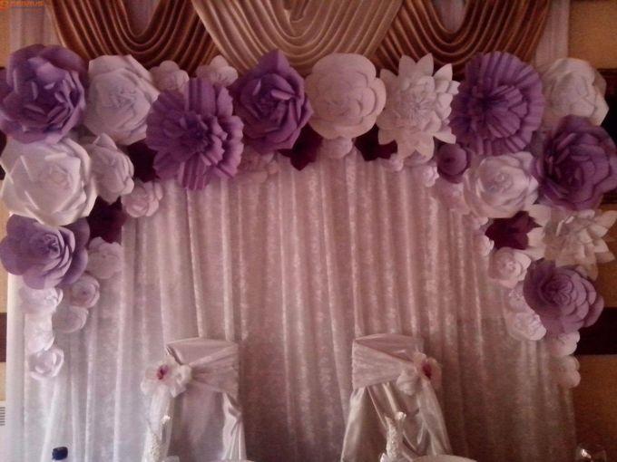 Цветы из лент и ткани в оформлении интерьера