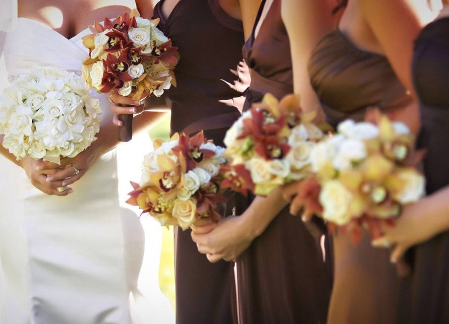 Фото 9439368 в коллекции Цвет свадьбы: Коричневый - Свадебное агентство Лантан
