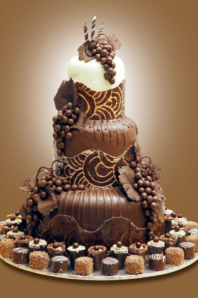 Шоколадный торт.фото