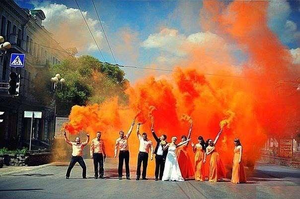 Фото 9440570 в коллекции Цвет свадьбы: Оранжевый - Свадебное агентство Лантан
