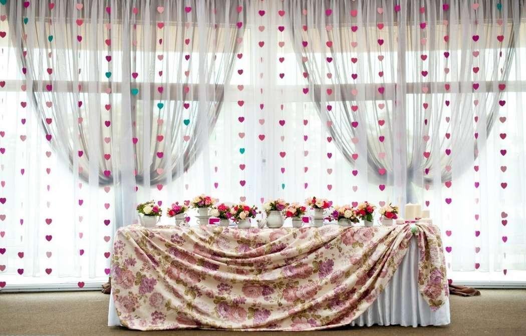 Оформить задник для свадьбы своими руками 6