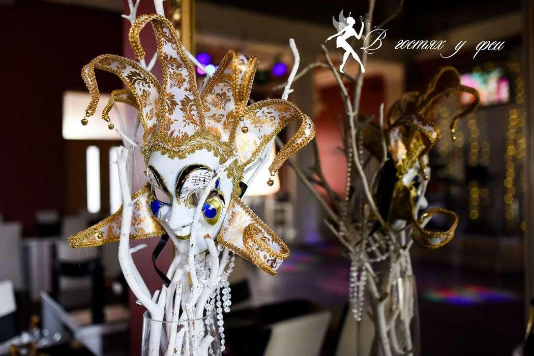 Фото 9500274 в коллекции Оформление в стиле Венецианского карновала! - Студия свадебного декора В гостях у феи