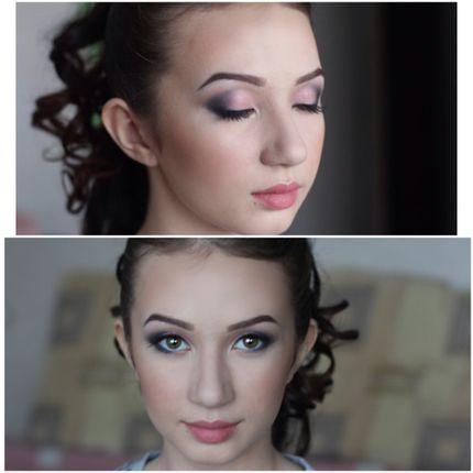 Вечерний или дневной макияж