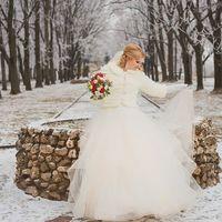 Невеста Ирина в платье Топаз