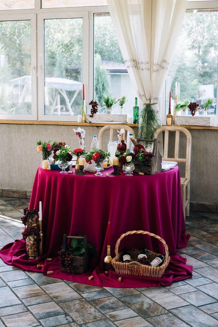 Фото 17272072 в коллекции Винная свадьба Ирины и Дмитрия - Студия декора Юлии Капраловой