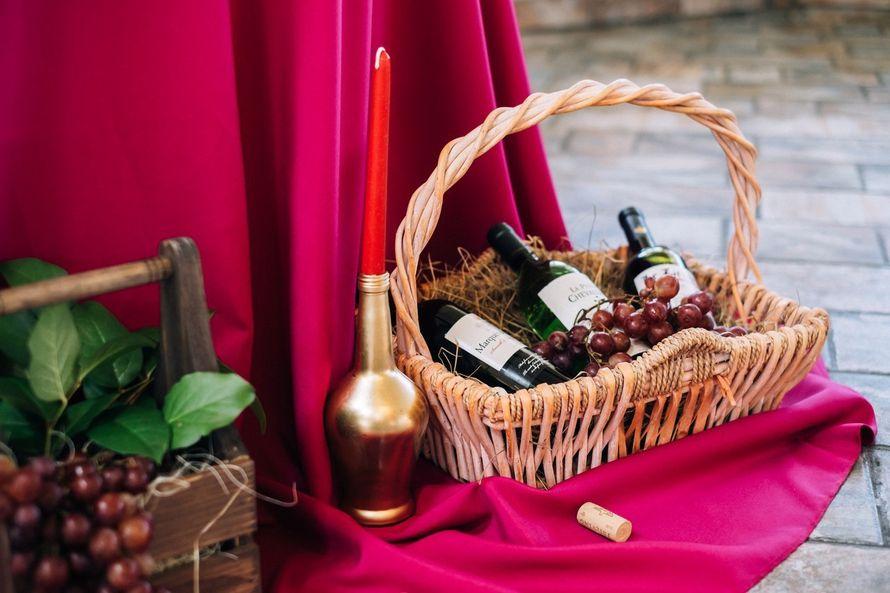 Фото 17272076 в коллекции Винная свадьба Ирины и Дмитрия - Студия декора Юлии Капраловой