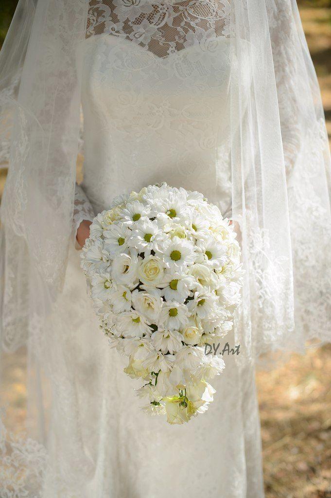 Фото 9604474 в коллекции Букет невесты, свадебный букет, бутоньерка, браслет - DY.Art