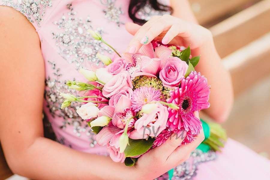 Букет-сюрприз для невесты Гульнары 04.09.13 - фото 9604492 DY.Art