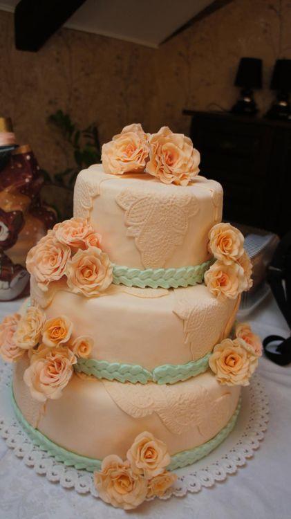 Свадебные торты фото в краснодаре