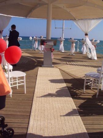 Оформление пирса - фото 1020059 TUANA Организация свадьб и торжеств в Анталии