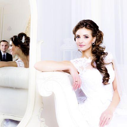 Свадебная студийная фотосессия