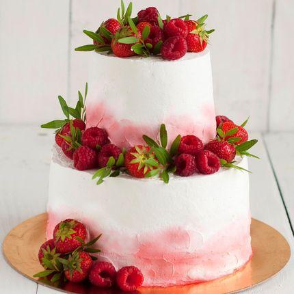 Торт с ягодами, 1 кг.