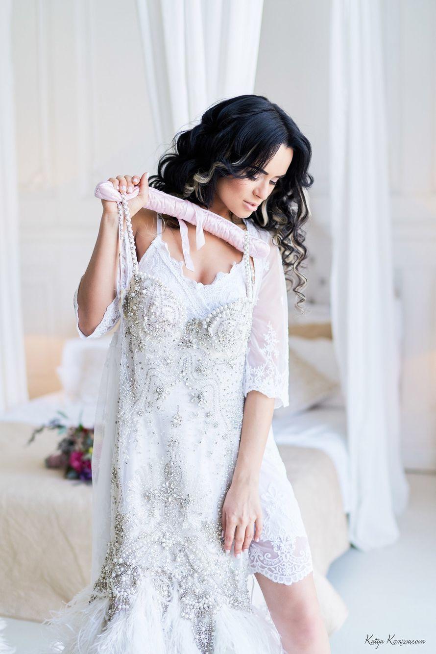 Фото 14484158 в коллекции Мои невесты! Больше фотографий - в моей группе!!! - Визажист-стилист Полина Орлова