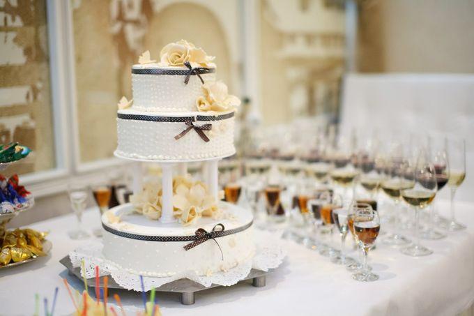 Свадебные торты новосибирск фото