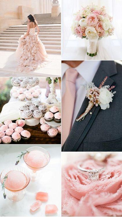 Свадьба. Розовые оттенки
