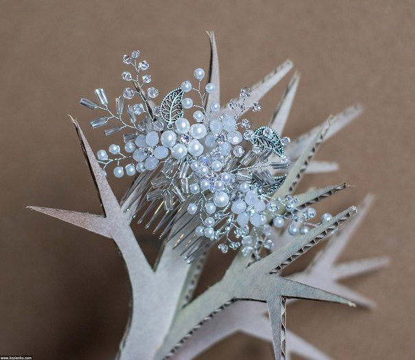 Украшение в прическу Свадебный гребешок