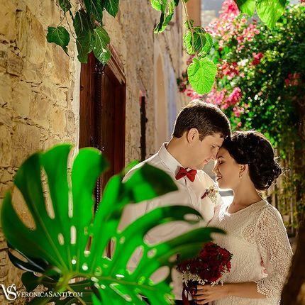 Свадебная съёмка от Вероники Санти