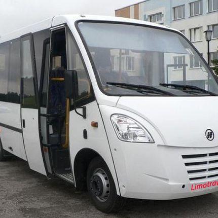 Аренда микроавтобуса, цена за 1 час