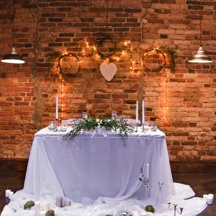 Свадьба под ключ на 20 гостей