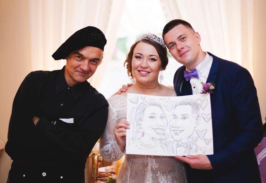 """Фото 15863906 в коллекции Шаржи на свадьбе, вживую и с фото - Шаржист """"Базилио"""""""