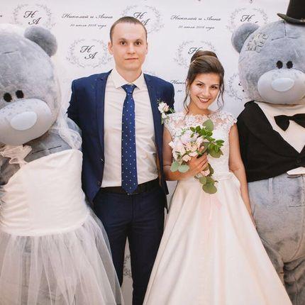 Аренда мишек на свадьбу, цена за 1 шт