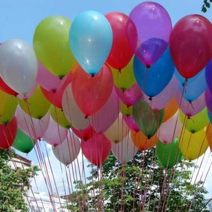 Украшения из воздушных шаров