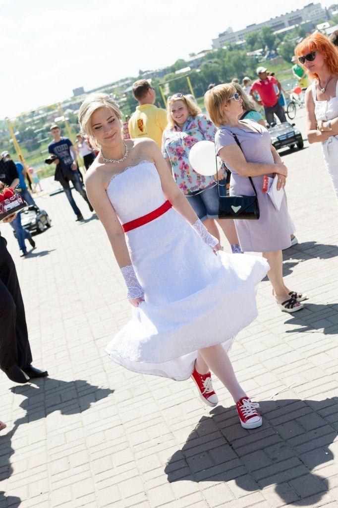 На Марине платье Валенсия - фото 11383750 Свадебный интернет-салон Татьяны Майор