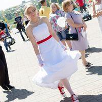 На Марине платье Валенсия