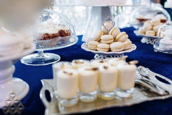 """Фото 10747762 в коллекции Сине-белая элегантная свадьба в """"Кроун Плазе"""". Ресторан Дорчестер - """"Shishka_decor"""" - студия декора"""